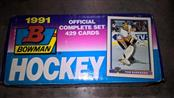 BOWMAN Sports Memorabilia 1991 HOCKEY CARDS